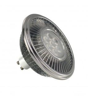 LED ES111, GRIS ARGENT, 17,5W, 30DEG, 4000K, VARIABLE