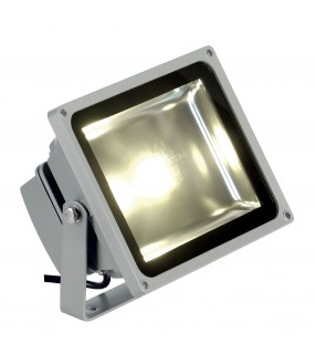 LED OUTDOOR BEAM, GRIS ARGENT, 30W, 3000K, 100DEG, IP65