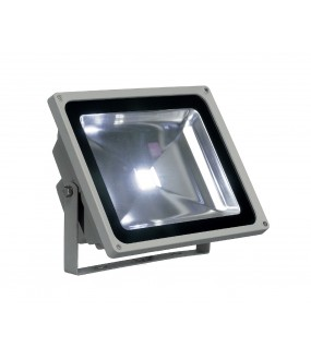 LED OUTDOOR BEAM, GRIS ARGENT, 50W, 3000K, 100DEG, IP65