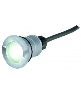 POWER TRAIL-LITE ROND, INOX 316, 1W LED BLEUE, IP67