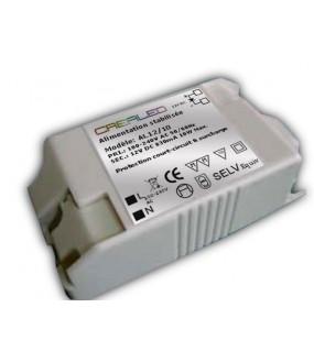 ALIM STAB 230V/12VDC 10W MAX 85X45X26