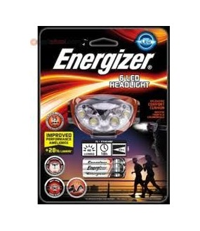 LAMPE FRONTALE 3 LEDS ENERGIZER 681520