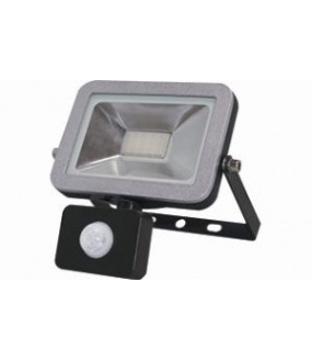 Projecteur LED + PIR Super Slim Line - 20W - 3200K - IP65