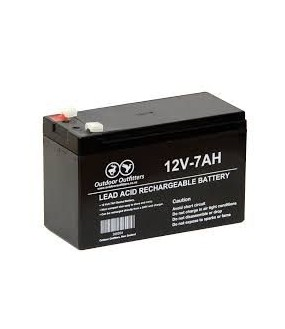 BATTERIE 12V 7AH RECHARGEABLE PLOMB/ACIDE