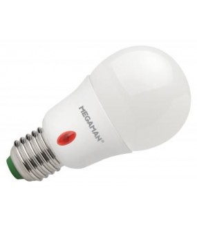 SENSOR LIGHT E27 8W LED 2800K