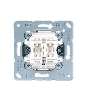 Mec Double Bouton Poussoir acec 2 circuits phase commune 01535099 JUNG