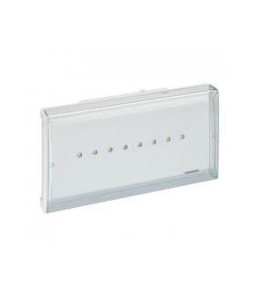 BAES d'evacuation ECO1 standard à LEDs 45lm - 1h plastique IP43 - IK07 SATI LEGRAND 062525