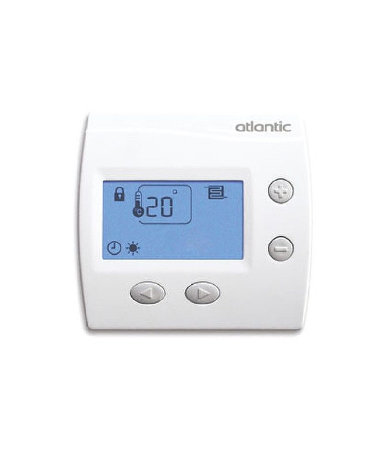 Thermostat dig domocable atlantic ce 109519 - Thermostat plancher chauffant electrique ...