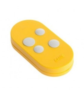 Came telecommande 4 canaux Jaune / Blanc 433.92/868.35 TOPD4RYS