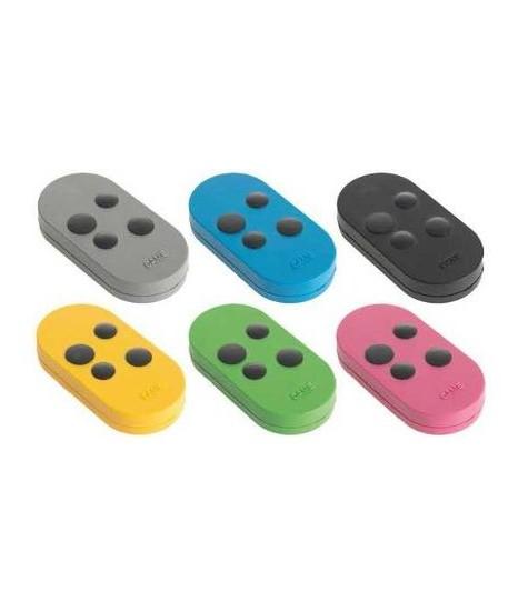 Came pack 6 telecommandes 4 canaux multi couleurs / Noir 433.92/868.35 TOPD4RXM