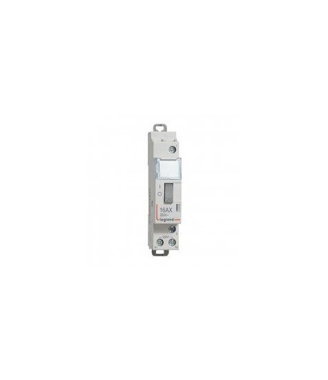 Télérupteur standard à vis 230V 16A 1F LEGRAND 412408 UNIPOLAIRE