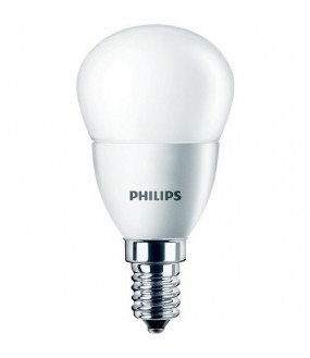 COREPRO LUSTRE ND 5.5-40W E14 827 2700K WARM SPHERIQUE PHILIPS 474891