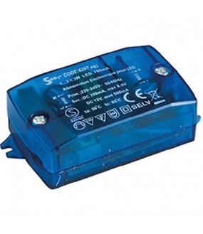 Alim 0.5-6W IP20 700mA-12VDC EUROPOLE SEET 4207