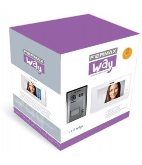 KIT WAY VIDEO  1 LOGEMENT 2FILS FERMAX