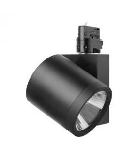Luminaire pour rail MODENA Blanc TECOH RDx IP20 Cl II 25W 2400Lm 45° 4000K 220-240V 50 000 hrs