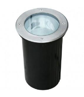 Encastré de sol pour lampe E27. IP65/67 avec connecteur