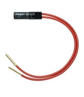 Ateha Lampe 12-24V rouge