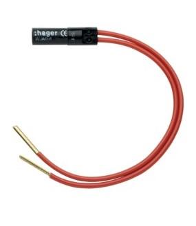 Ateha Lampe 250V rouge 1mA