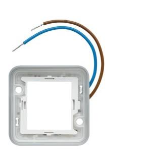 Cubyko cadre lumin. bleu 230V