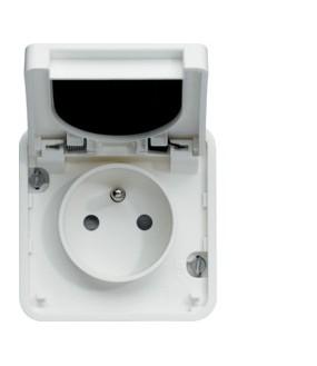 Cubyko PC 2P+T assoc. blanc