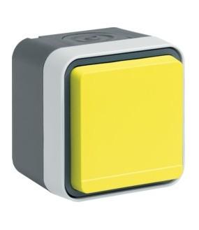 Cubyko PC 2P+T saillie jaune