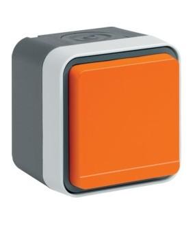 Cubyko PC 2P+T saillie orange
