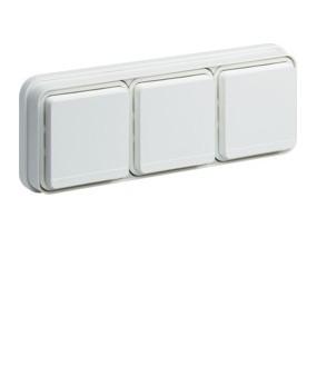 Cubyko PC 3H2P+T encast blanc