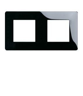 Essensya Plaque 2P ent71 Noire