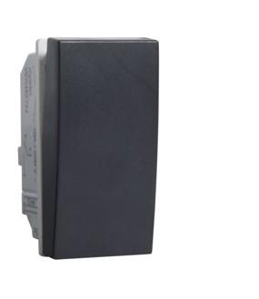 Systo 1M Poussoir 1F 10A Noir