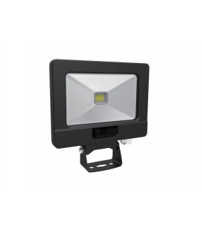 Projecteur LED Noir extra plat 50W 4000K 4000LM + Detection