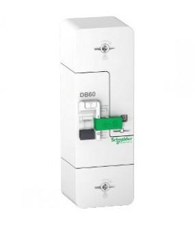 Resi9 DB60 - Disjoncteur Branchement - 1P+N - 60A fixe - 500mA - Selectif