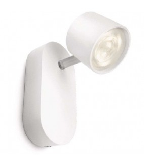 APPLIQUE STAR SPOT LED BLANC 1X4.5W IP20 500LM