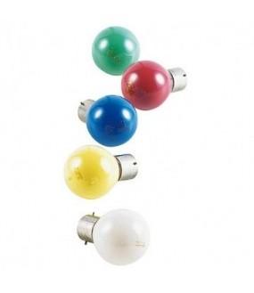 10 LAMPES OPAQUES LED B22