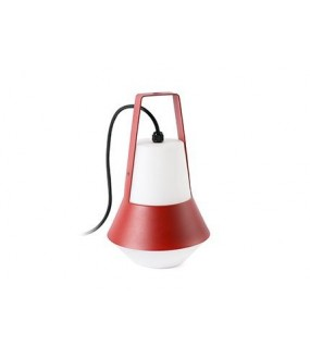 CAT LAMPE PORTABLE ROUGE 1XE27 20W