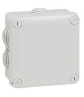 Boite de dérivation carrée Plexo grise 105X105X55mm LEGRAND 092022
