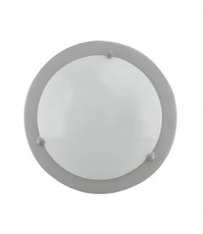 Plafonnier métal Gris pour lampe E27