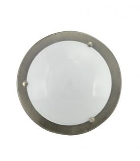 Plafonnier métal Bronze pour lampe E27