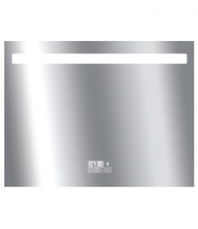 Miroir LED IP44 700x900 21w bluetooth avec inter