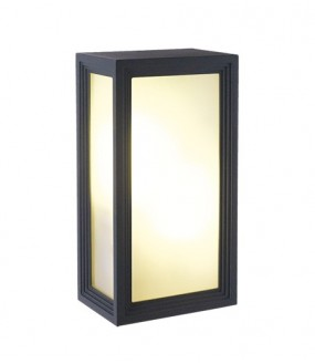 Applique Aluminium pour lampe E27 2X18W IP54