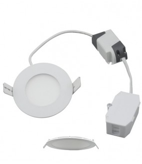 Downlight LED extra plat 5w 4000°K