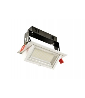 Kit LED encastré rectangulaire 38W 4000°K
