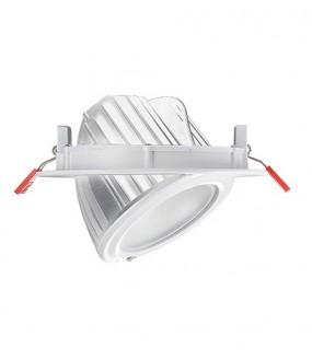 Kit LED encastré rond basculant 38W 4000°K