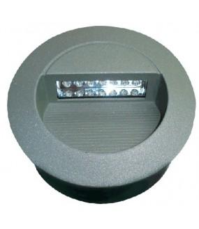 Applique Ronde à encastrer IP65 14 LED blanche