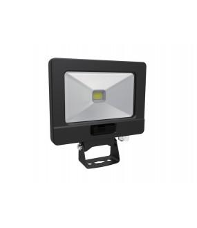 Projecteur LED extra plat 50W noirà détection cablé 0.80m