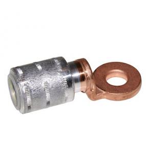 ACX 50 - Cosse Alu-Cuivre industrie 50mm²-Trou de bornage: 8,2mm