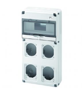 Q-DIN 10M 4 PR.16/32A IP65