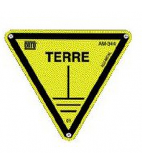 triangle alu 'terre' 100mm