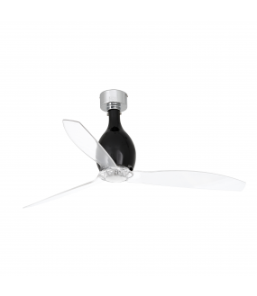 MINI ETERFAN VENTILATEUR DE PLAFOND NOIR BRILLANT/