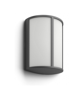 APPLIQUE STOCK 4000K wall lantern anthracite 1x6W CLII IP44 PHILIPS 1646493P3