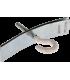Accessoire métallique de fixation de luminaire 95mm